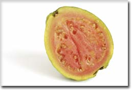 Guava Fruit Half