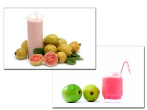 Guava Smoothie and Guava Juice